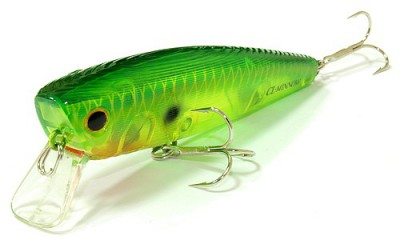 Lucky Craft Classical Minnow 867 Ghost Peacock