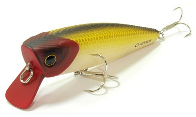 Lucky Craft Classical Minnow Red Head 858